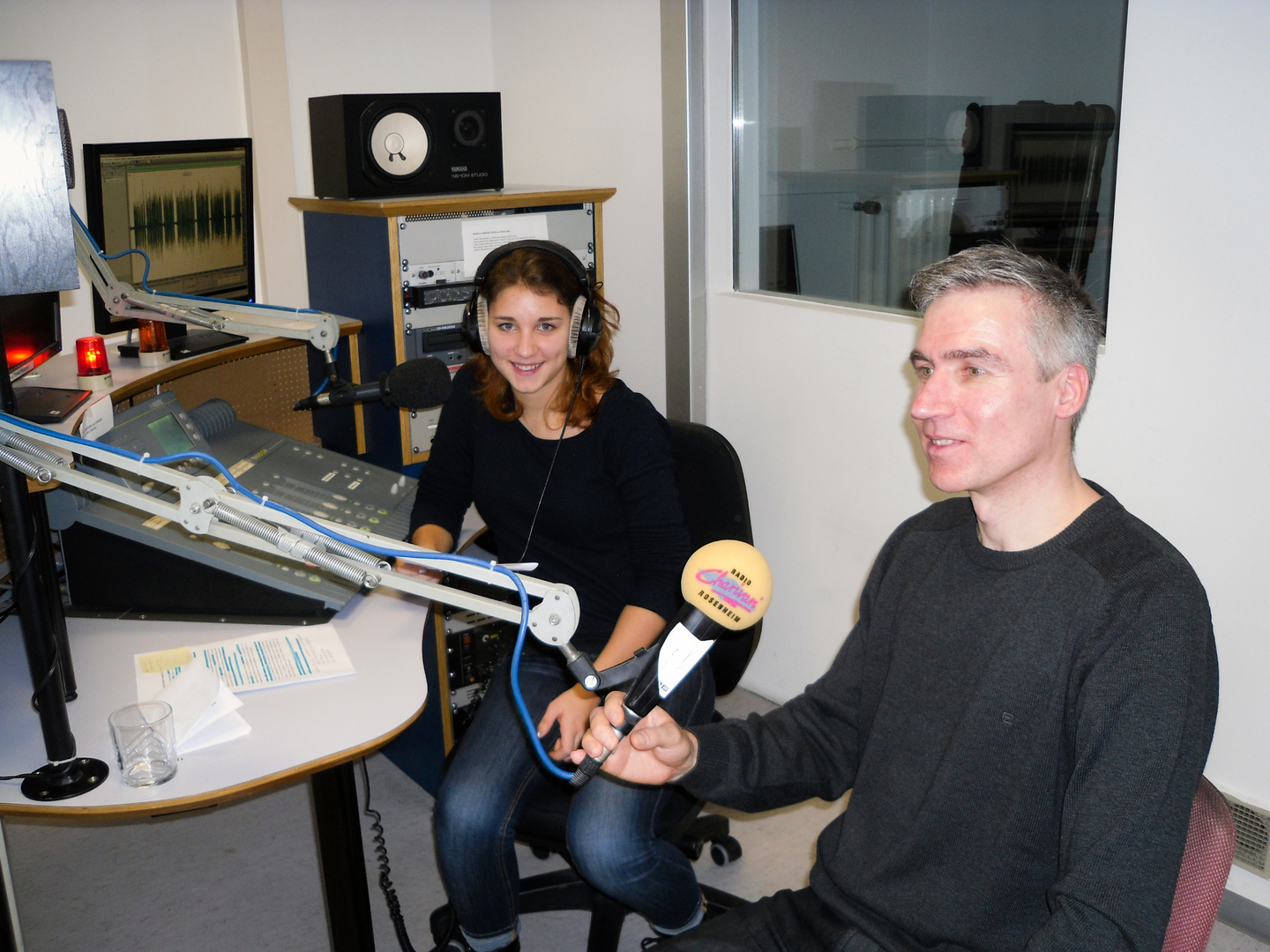 Interview in Radio Charivari